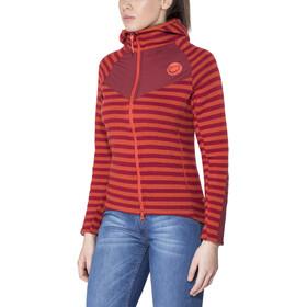 Edelrid Creek Fleece Jacket Damen vine red